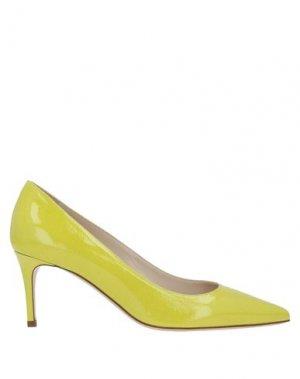 Туфли DEIMILLE. Цвет: кислотно-зеленый