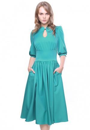 Платье Marichuell KAMORY. Цвет: бирюзовый