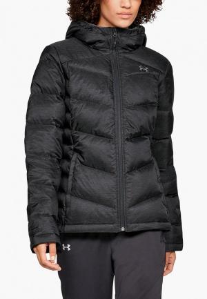 Пуховик Under Armour Down Sweater Hooded - WARM. Цвет: черный