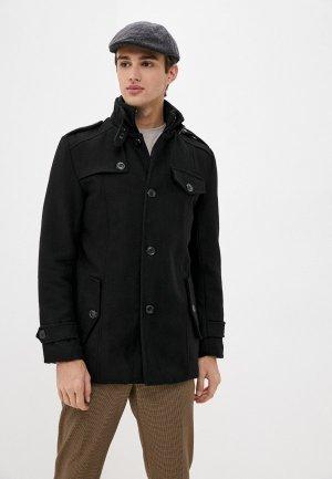Пальто Indicode Jeans. Цвет: черный