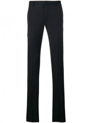 Классические брюки строгого кроя Lanvin. Цвет: синий