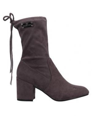 Полусапоги и высокие ботинки ROMEO GIGLI. Цвет: серый