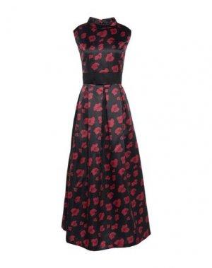 Длинное платье FORNARINA. Цвет: черный