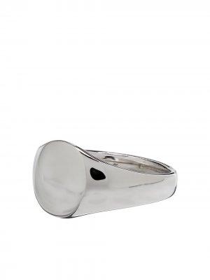 Серебряный перстень Tom Wood. Цвет: серебристый