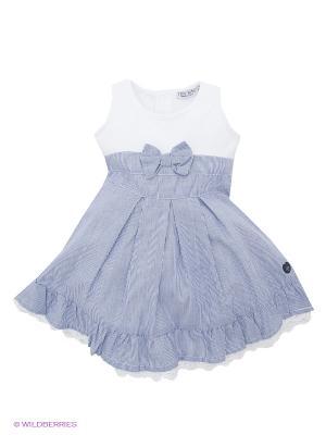 Платье 02 TANDEM. Цвет: синий