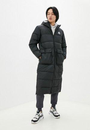 Куртка утепленная Kappa. Цвет: черный