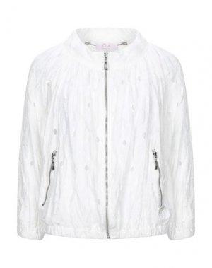 Куртка CLIPS MORE. Цвет: белый