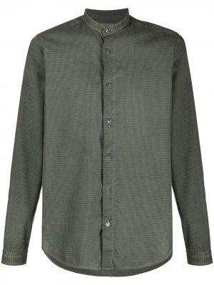 Клетчатая рубашка Boglioli. Цвет: зеленый