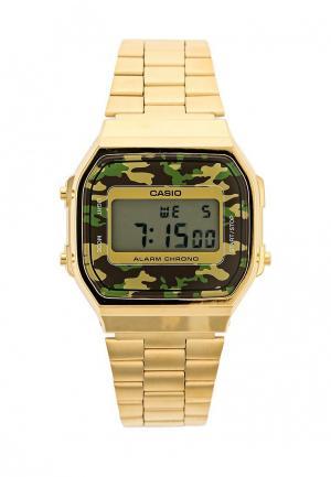 Часы Casio Collection A-168WEGC-3E. Цвет: золотой