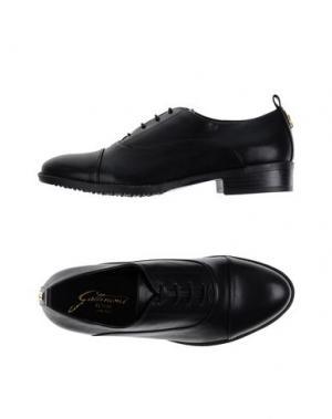 Обувь на шнурках GATTINONI. Цвет: черный