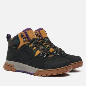 Мужские ботинки Boulder Trail Mid Waterproof Timberland. Цвет: чёрный