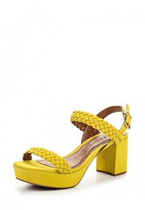 Босоножки Carrano CA090AWPIZ33. Цвет: желтый