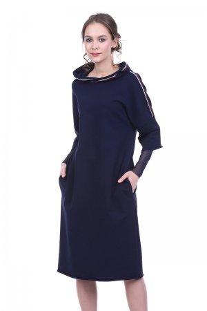 Трикотажное платье в спортивном стиле Lautus