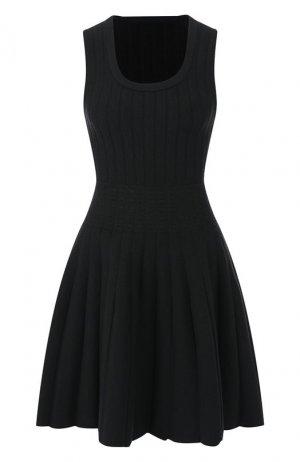 Платье Alaia. Цвет: зеленый
