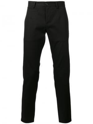 Классические брюки чинос Dolce & Gabbana. Цвет: чёрный