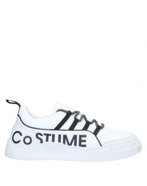 Низкие кеды и кроссовки COSTUME NATIONAL HOMME. Цвет: белый