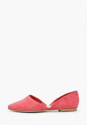 Балетки s.Oliver. Цвет: розовый