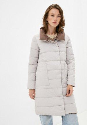 Куртка утепленная Mamma Mia. Цвет: разноцветный