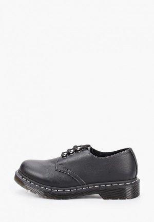 Ботинки Dr. Martens 1461 HDW-3 Eye Shoe. Цвет: черный