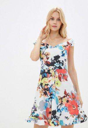 Платье Elena Andriadi. Цвет: белый