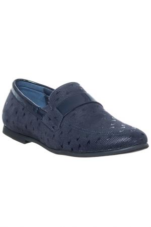Shoes GianMarco Venturi. Цвет: navy