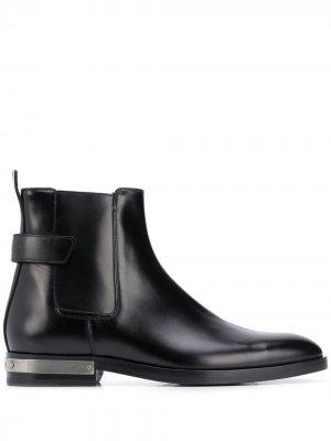 Ботинки с пряжкой Balmain. Цвет: черный