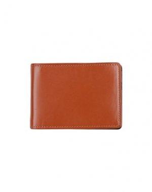 Бумажник DRIES VAN NOTEN. Цвет: коричневый
