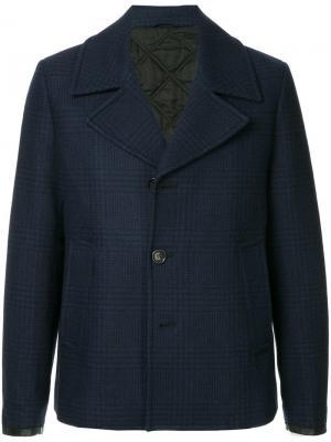Однобортный пиджак Cerruti 1881. Цвет: синий