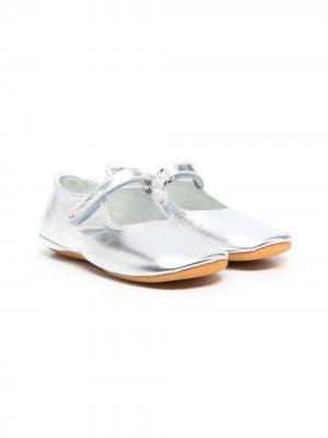 Туфли Мэри Джейн Gallucci Kids. Цвет: серый