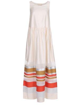 Платье в полоску ERIKA CAVALLINI