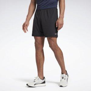 Спортивные шорты Run Essentials Basic 7-Inch Reebok. Цвет: black