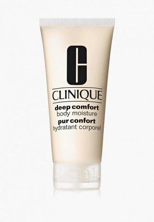 Крем для тела Clinique Deep Comfort, 200 мл. Цвет: прозрачный