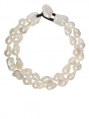 Ожерелье с жемчугом Monies. Цвет: baroque pearls
