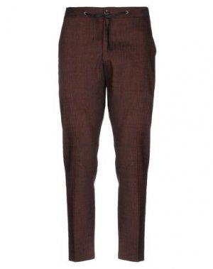 Повседневные брюки HAMAKI-HO. Цвет: какао