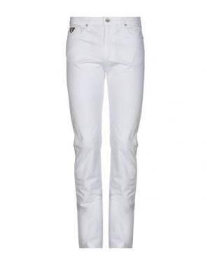 Повседневные брюки ARMATA DI MARE. Цвет: белый