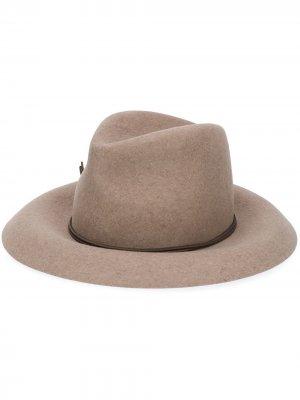 Шляпа трилби Isabel Marant. Цвет: нейтральные цвета