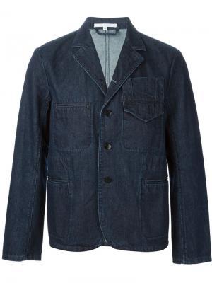 Джинсовый пиджак Carven. Цвет: синий