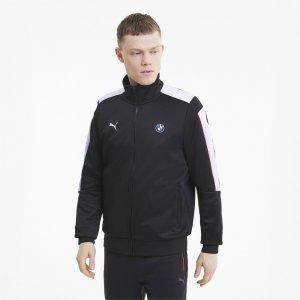 Олимпийка BMW MMS T7 Track Jacket PUMA. Цвет: черный