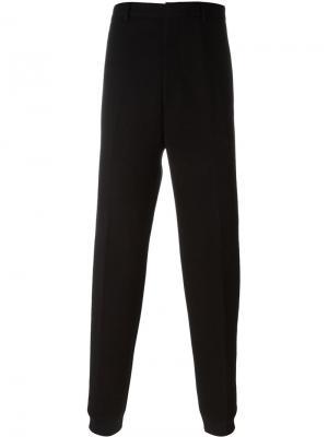 Классические спортивные брюки Lanvin. Цвет: чёрный