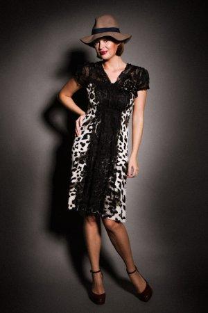 Платье Philippe Carat. Цвет: черный