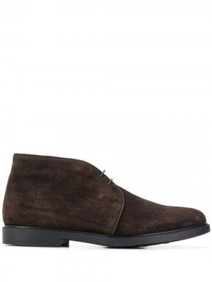 Ботинки с окантовкой Fratelli Rossetti. Цвет: коричневый