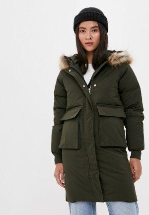 Куртка утепленная Liana. Цвет: хаки