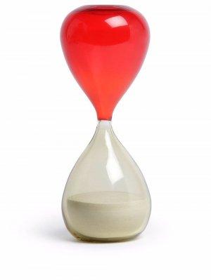 Песочные часы Clessidra Murano Venini. Цвет: красный