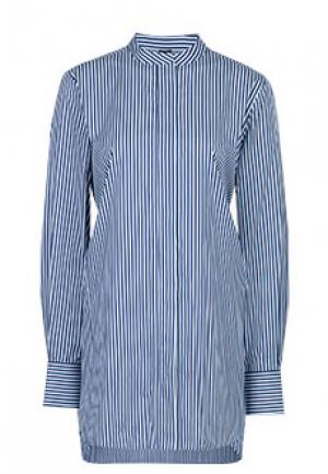 Рубашка JOSEPH. Цвет: синий