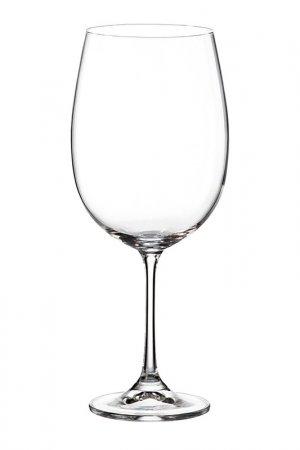 Набор бокалов для вина Crystalite Bohemia. Цвет: прозрачный