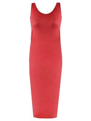 Платье-майка шелковое MALO