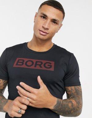 Футболка Performance-Черный цвет Bjorn Borg