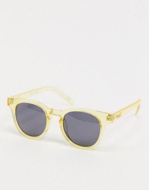 Солнцезащитные очки в кремовой оправе -Кремовый Vans
