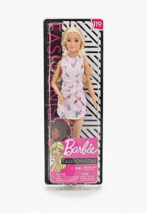 Кукла Barbie Barbie® из серии «Игра с модой». Цвет: разноцветный