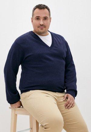 Пуловер Masteritsa New Classic. Цвет: синий